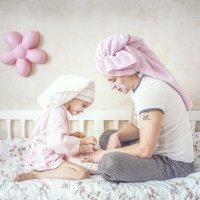 Папа может всё что угодно, даже мамой умеет быть ))) :: Юлия Шестоперова