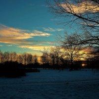 Магия вечернего заката... :: Sergey Gordoff