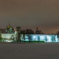 Зимний сон Новодевичьего монастыря. :: Борис Руненко