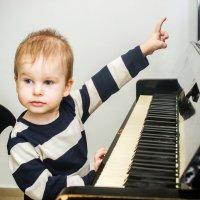 Юный пианист :: Мария Юрьева