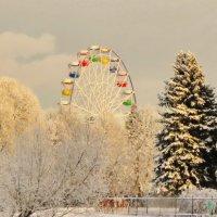 Вечернее колесо обозрения :: Владимир Гилясев
