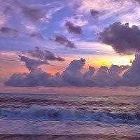 Сиреневый закат :: Мария Богуславская