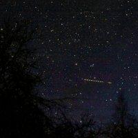 Ночь. Небо. Звёзды. Самолёт. :: Анатолий Антонов