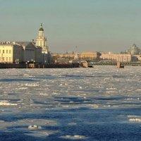 Весна,лёд и Нева :: Владимир Гилясев