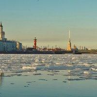 Нева,весна и лёд :: Владимир Гилясев