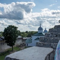 Вид с крепостной стены :: Ольга Лиманская