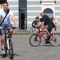 А я сяду на велосипед :: Александр Михайлов