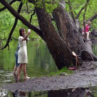 Селфи в парке. :: Наталья
