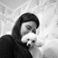 Дама с обачкой :: Татьяна Малафеева