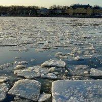 Вечерний лёд :: Владимир Гилясев