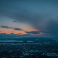 Закат над городом :: Timofey Chichikov