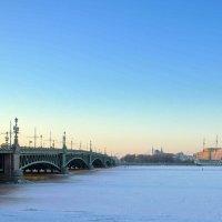 Троицкий мост :: ПетровичЪ,Владимир Гультяев