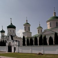 Храмы монастыря. Троекурово. Липецкая область :: MILAV V