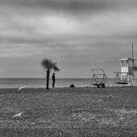Март. Сочи. Городской пляж :: Владимир Печенкин