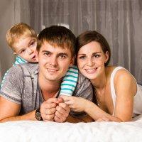Семейная фотосъемка в студии :: Оксана Кузьмина