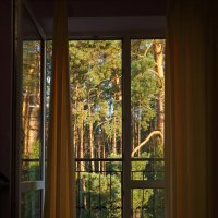 Утро в загороднем доме :: Александр Клочков