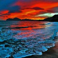 огонь небес угли забросил в море :: viton