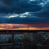 Закат в Шилово :: Валерий Переславцев