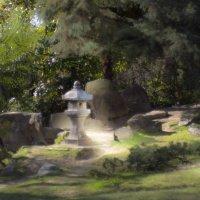 Каменный фонарь :: Владимир Печенкин