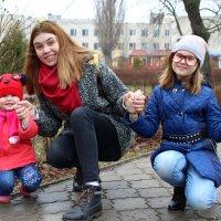 Катрин с племяшками :: Анна Шишалова