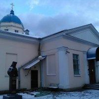 Казачья церковь в марте. (Санкт-Петербург). :: Светлана Калмыкова