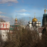 Вид на Новодевичий монастырь с МЦК :: lady-viola2014 -