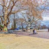 В полдень, 1-го марта, на Приморском бульваре. :: Вахтанг Хантадзе