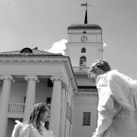 Ангелы в городе :: Александра Романова