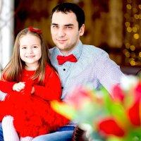 Папа и дочь :: Viktoria Shakula