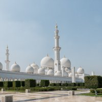 Мечеть Шейха Зайда в Абу-Даби :: Владимир Горубин