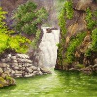 Водопад Киште. Телецкое озеро. Алтай. :: rv76