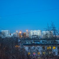 Сумерки в Москве :: Игорь Герман
