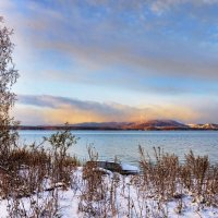 Утро на озере Силач :: Александр К.