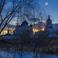 За монастырем садилось солнце :: Сергей Цветков