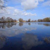 В мартовский полдень на озере :: Маргарита Батырева