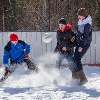 Зимний футбол :: Дмитрий Сиялов