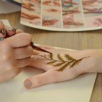 Рисунок на руке :: Ростислав