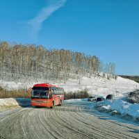 Дорога в деревеню :: Дмитрий Конев