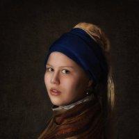 Девушка с жемчужной серёжкой :: Елена Баскакова
