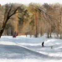 Вдруг посыпал снег в апреле Вновь зима - вот это да! Налетели вдруг метели, Наступили холода. Снег в :: ALISA LISA