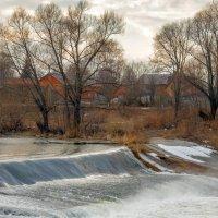 Плотина на реке Осётр :: Дмитрий Сорокин