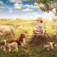 Little Shepherd :: Irina Safronova