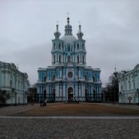 Смольный собор. (Санкт-Петербург). :: Светлана Калмыкова