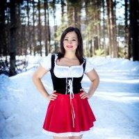 Красная шапочка :: Екатерина Лазарева