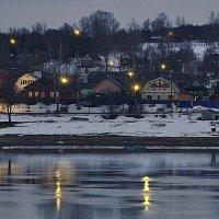 Деревня на берегу. :: Дмитрий Строганов