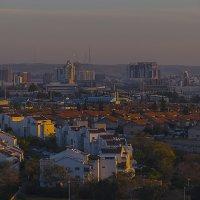 вечерние полутона города в пустыне :: Александр Липовецкий