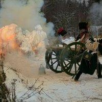Артиллеристы 1812 года :: Виктор Перякин