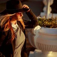 Катюша, прогулка в Сочи :: Оксана ЛОбова
