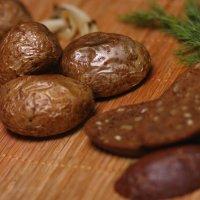 Картофель приготовленный в духовке, с золотистой корочкой! :: Иван Лазаренко