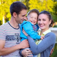 Алексей, Ольга и Владик :: Марина Киреева